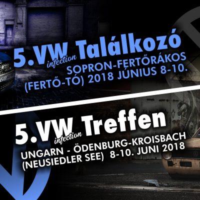 5. VW Infection – Volkswagen Konszern Találkozó