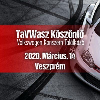 TaVWasz Köszöntő Volkswagen Konszern Találkozó Veszprém