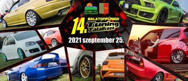 Idén is szeptemberben! 14. Balatonfüredi Tuning  Találkozó 2021 szeptember 25.